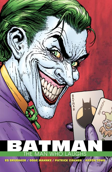 Batman The Man Who Laughs The Deluxe Edition HC - Books