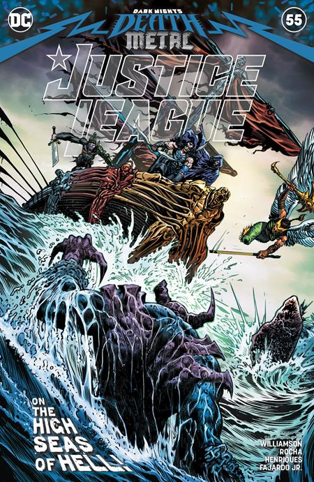 Justice League #55 Cvr A Liam Sharp - Comics