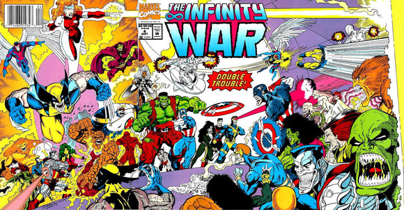 Infinity War (1992) #4 Issue 4 cover