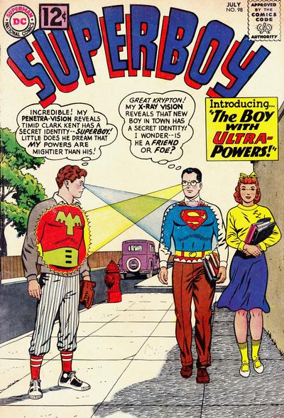 Superboy (1949) #98 Issue 98 cover