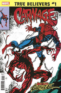 True Believers: Absolute Carnage - Carnage (2019)  #1 Issue 1 cover