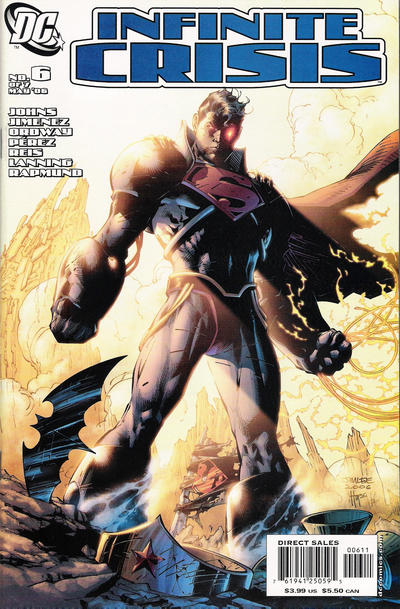 Infinite Crisis (2005)  #6 Issue 6 cover