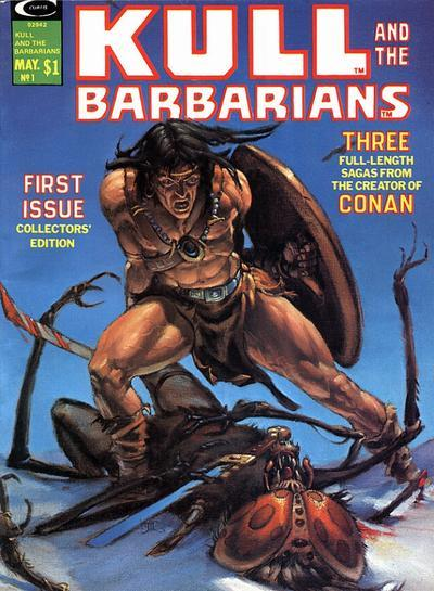 Kull and the Barbarians #1-3