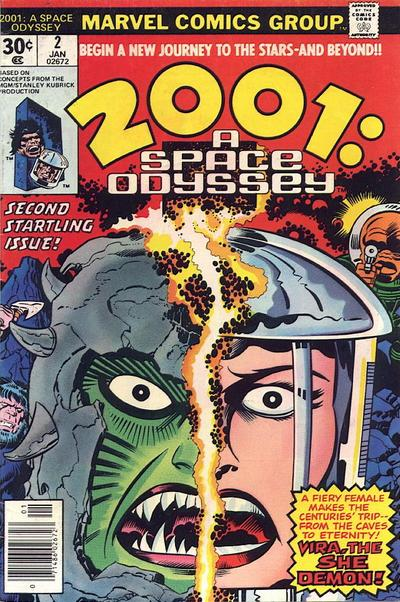 2001, A Space Odyssey (1976)  #2 cover