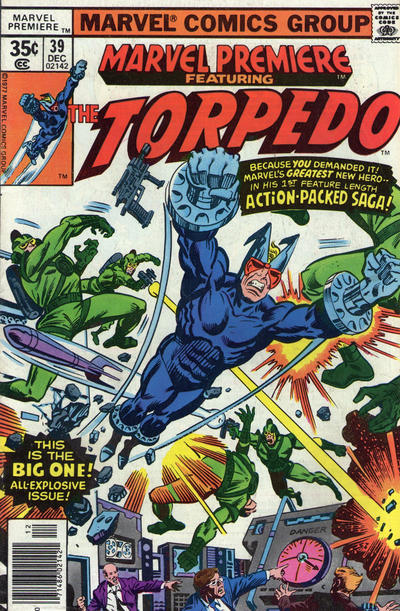 Marvel Premiere (1972) #39 Issue 39 cover