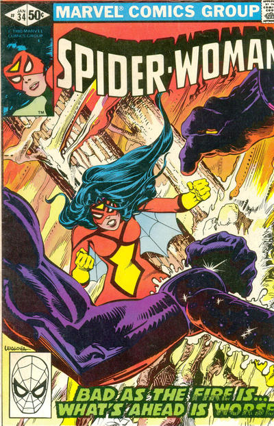 Spider-Woman (1978) #34 Issue 34 cover