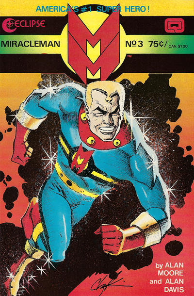 Miracleman (1985) #3 Issue 3 cover