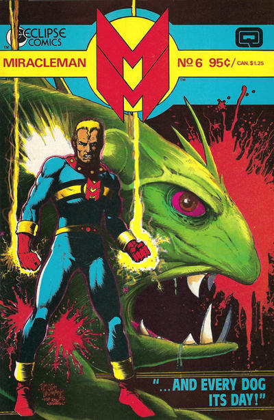 Miracleman (1985) #6 Issue 6 cover