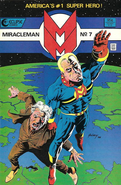 Miracleman (1985) #7 Issue 7 cover