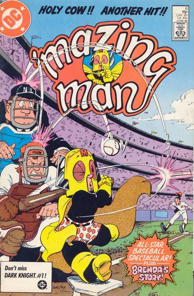 'Mazing Man (1986)  #6 cover