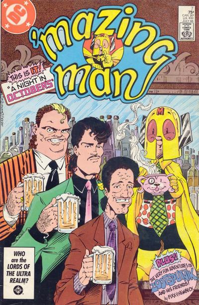 'Mazing Man (1986) #7 Issue 7 cover