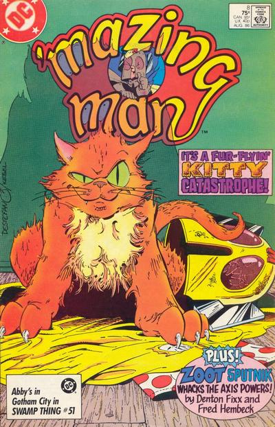 'Mazing Man (1986) #8 Issue 8 cover
