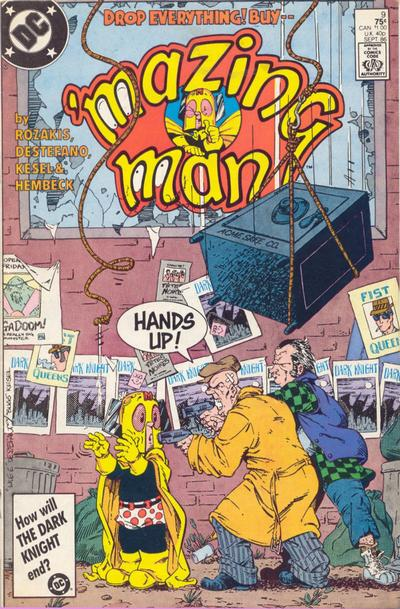 'Mazing Man (1986)  #9 cover