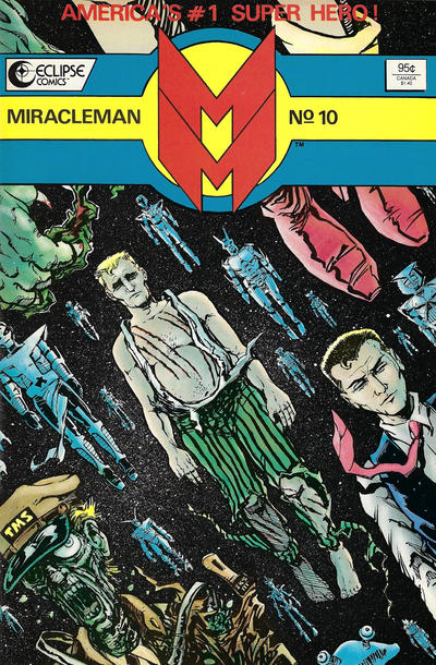 Miracleman (1985) #10 Issue 10 cover