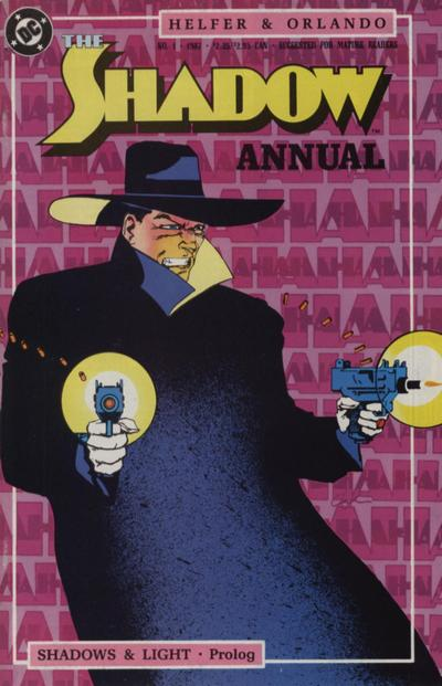 Shadow Annual (1987) #1 Issue 1 cover