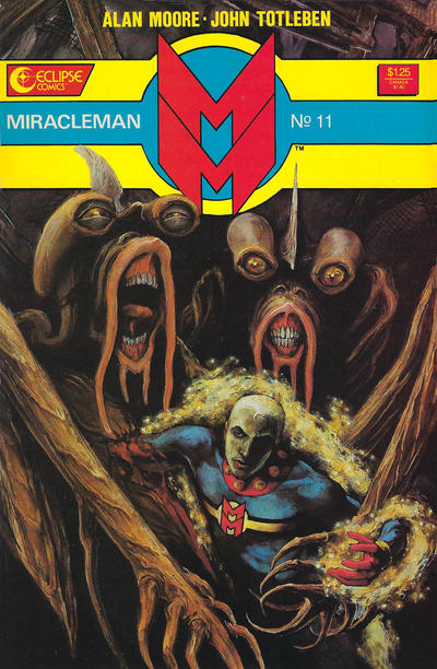 Miracleman (1985) #11 Issue 11 cover