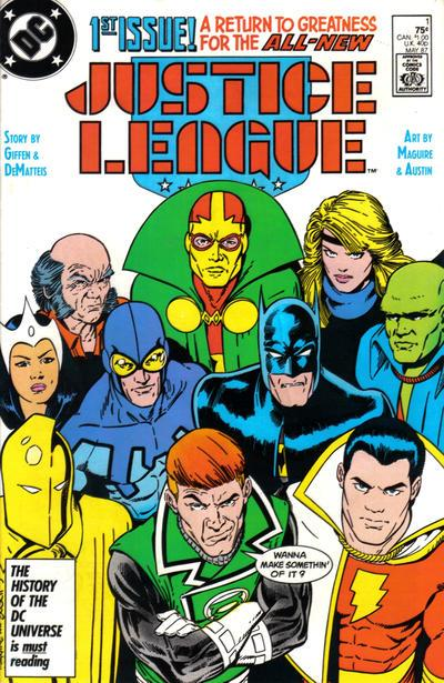 Giffen and DeMatteis Justice League #1-6