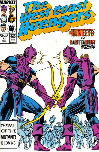 West Coast Avengers (1985)  #27 Issue 27 cover