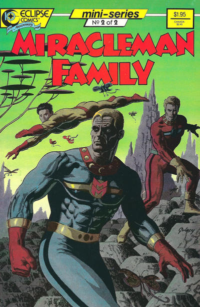 Miracleman Family (1988) #2 Issue 2 cover
