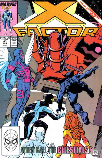 X-Factor (1986) #43 Issue 43 cover