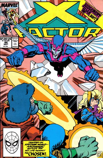 X-Factor (1986) #44 Issue 44 cover
