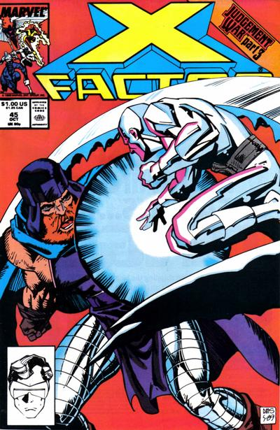 X-Factor (1986) #45 Issue 45 cover