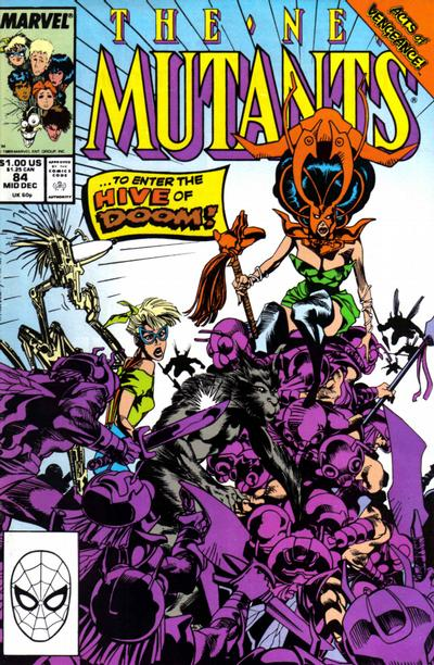 New Mutants (1983) #84 Issue 84 cover