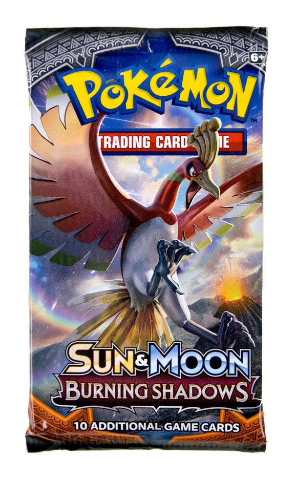 Pokemon Tcg: Sun & Moon Burning Shadows Booster-Single