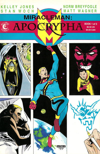 Miracleman: Apocrypha (1991) #1 Issue 1 cover