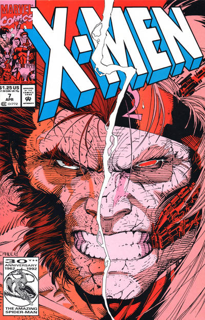 X-Men (1991)  #7 Issue 7 cover