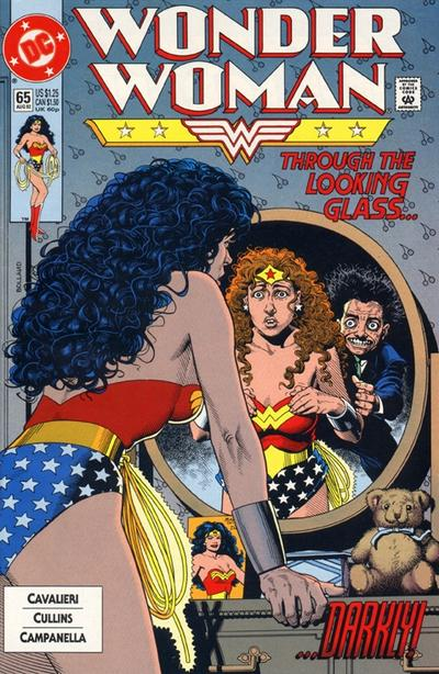 Wonder Woman (1987) #65 Issue 65 cover