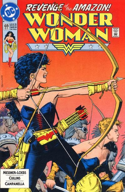 Wonder Woman (1987) #69 Issue 69 cover