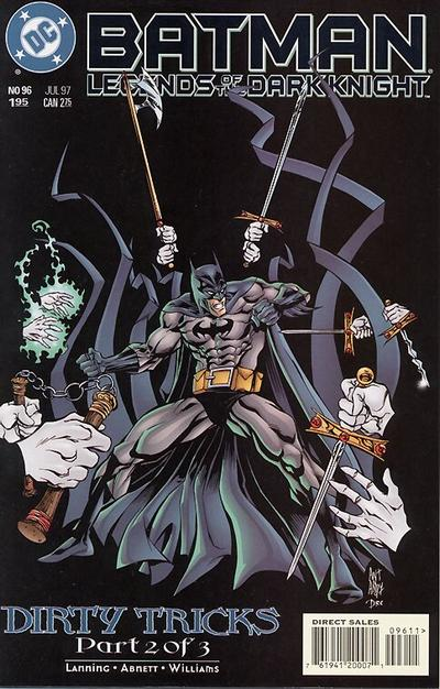 Batman: Legends of the Dark Knight (1992)  #96 Issue 96 cover