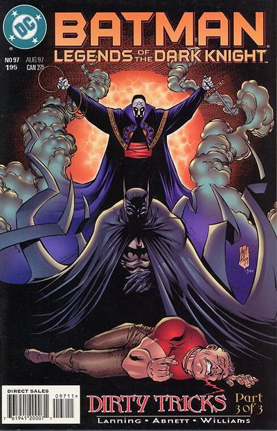 Batman: Legends of the Dark Knight (1992)  #97 Issue 97 cover
