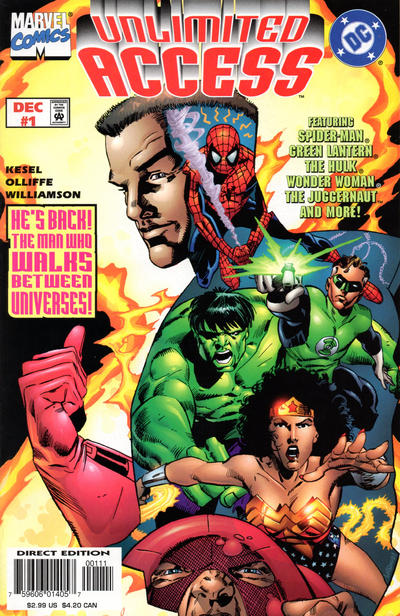 Unlimited Access (1997) #1 Issue 1 reader copy cover