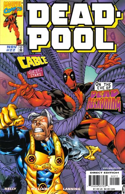 Deadpool (1997)  #22 Issue 22 cover