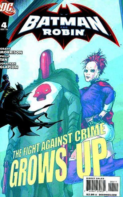 Batman and Robin (2009)  #4 Issue 4 cover