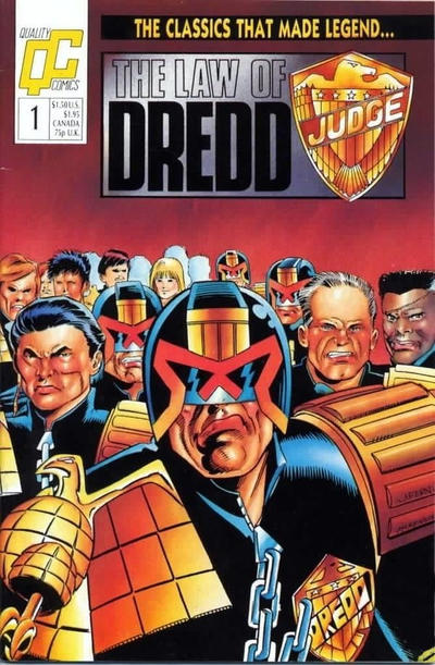 Law of Dredd (1988) #1 Issue 1 cover