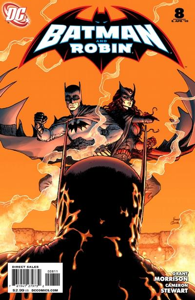 Batman and Robin (2009)  #8 cover