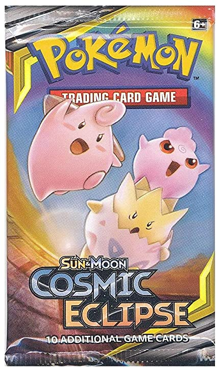 Pokemon Tcg: Sun & Moon Cosmic Eclipse Booster Pack