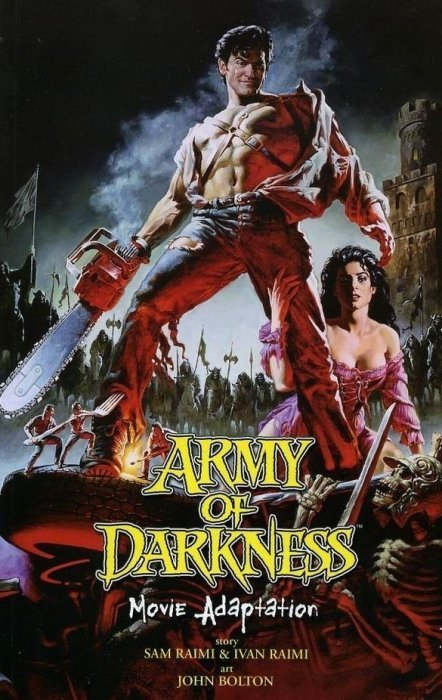 Army of Darkness Movie Adaptation (2006) #[nn] Issue [nn] cover