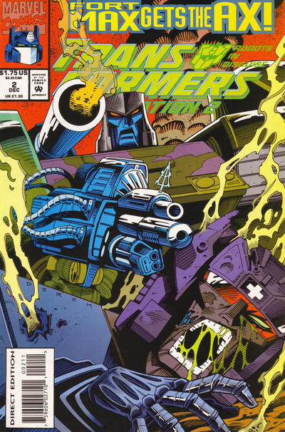 Transformers: Generation 2 (1993) #2 Issue 2 cover