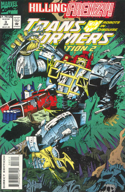 Transformers: Generation 2 (1993) #3 Issue 3 cover