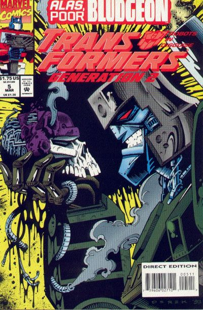 Transformers: Generation 2 (1993) #5 Issue 5 cover