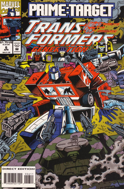 Transformers: Generation 2 (1993) #6 Issue 6 cover