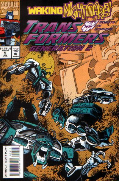 Transformers: Generation 2 (1993) #9 Issue 9 cover