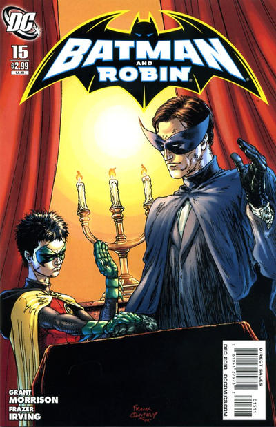 Batman and Robin (2009)  #15 cover