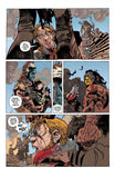 Sample comic pages from 7 Deadly Sins by Tze Chun and Artyom Trakhanov