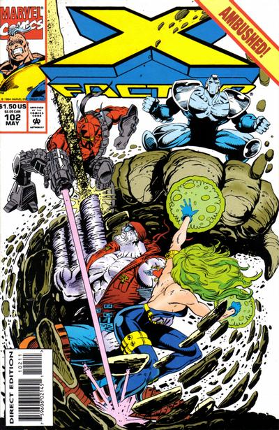 X-Factor (1986) #102 Issue 102 cover