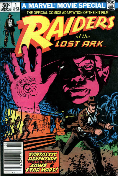 Raiders of the Lost Ark (1981)  #1 Issue 1 cover